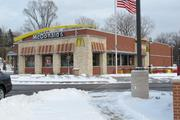 The McDonald's Restaurant at the intersection of Highway 100 and Janesville Road was recently rebuilt.