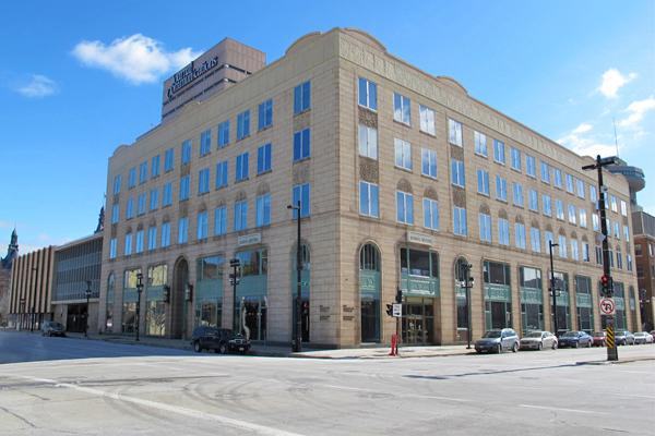 The Milwaukee Journal Sentinel is housed in the downtown Milwaukee headquarters of Journal Communications.