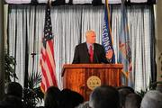 Barrett gave his State of the City address Monday at the Pritzlaff Building in downtown Milwaukee.