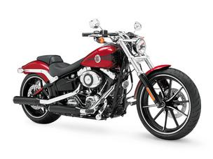 The new Harley-Davidson Breakout model being unveiled at Daytona Bike Week