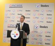 Steelers President Art Rooney II is part of a first family of NFL football.