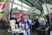 The average cost for beer at Miller Park is $6 this season, which is less than the Major League average of $6.12.