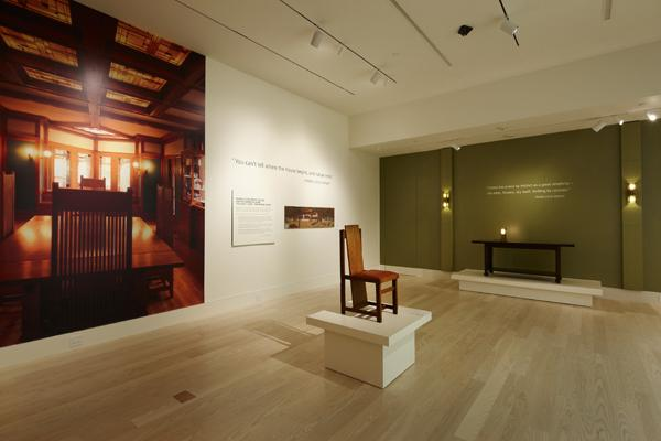 """Image from """"The SC Johnson Gallery: At Home with Frank Lloyd Wright"""""""