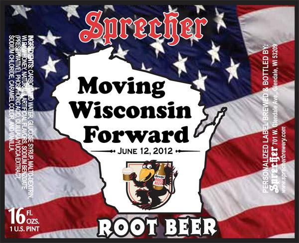 """Sprecher Brewery has created a special label for its root beer that will be served as part of Gov. Scott Walker's """"Beer and Brat Summit."""""""