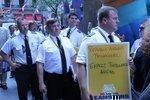 Milwaukee pilots protest against Republic Airways in New York