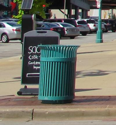 Milwaukee officials are considering selling advertising on items like trash cans and electronic parking meters around the city to raise money.