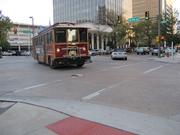 Rubber wheel trolleys for city transit were an early project funded by sales tax proceeds.