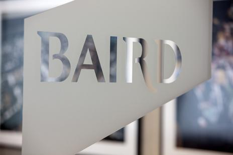Robert W. Baird & Co. revenue increased to record highs for the third straight year.