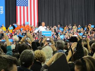 President Barack Obama, who campaigned in Milwaukee the Saturday before the election, has won a second term.