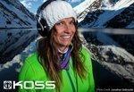 Koss lines up Olympian Julia Mancuso as headphone endorser