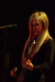 Avril Levigne performed at the Bradley Center on Nov. 12, 2004.