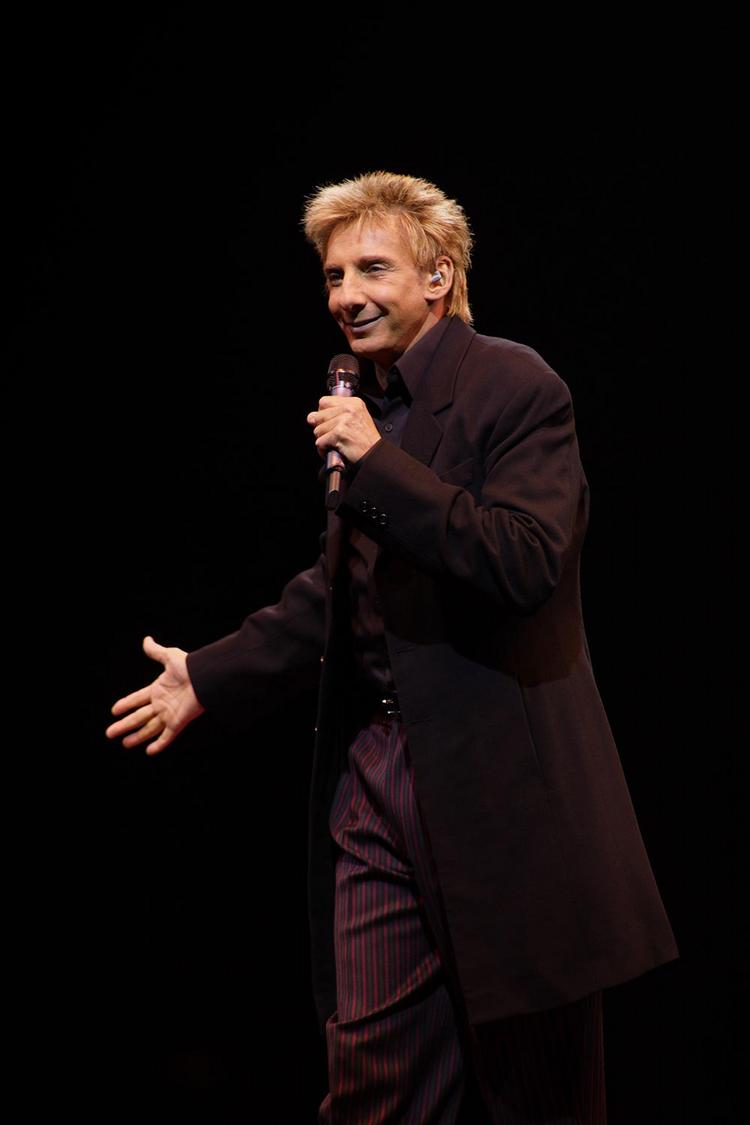 Barry Manilow donated a piano to Wake County Schools.