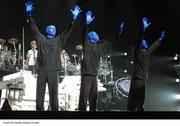 The Blue Man Group performed at the Bradley Center on Oct. 22, 2006.