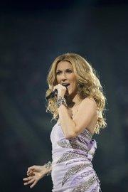 Celine Dion held a concert at the Bradley Center on Sept. 29, 2008.