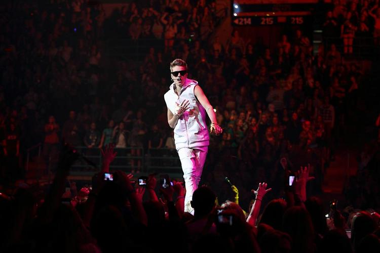 Pop star Justin Bieber is the latest celebrity to announce that he's put down a deposit to fly aboard Virgin Galactic's spaceship that's expected to launch from Spaceport America.
