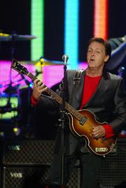 Paul McCartney appeared in concert at the building on Sept. 21, 2002.