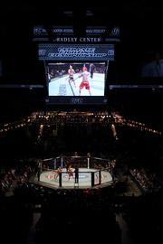 The Ultimate Fighting Championship (UFC) was held at the Bradley Center on Aug. 14, 2011.