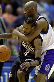 The Bucks played in the Eastern Conference finals against the Philadelphia 76ers in May 2001.