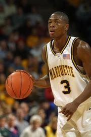 NBA superstar Dwayne Wade played at the Bradley Center for Marquette University.