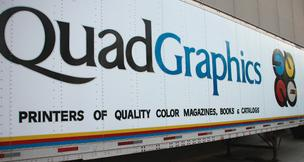 Quad/Graphics Inc. truck