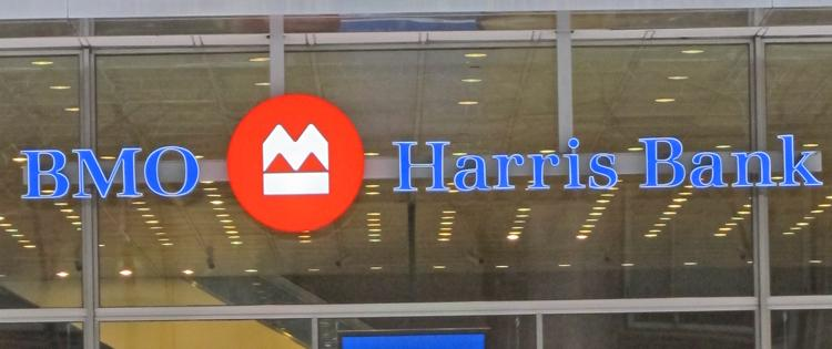 BMO Harris Bank is second in market share in Milwaukee to U.S. Bank.
