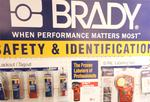 Brady Corp. sales flat; firm reorganizing