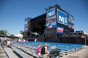 The current temporary M&I Classic Rock Stage
