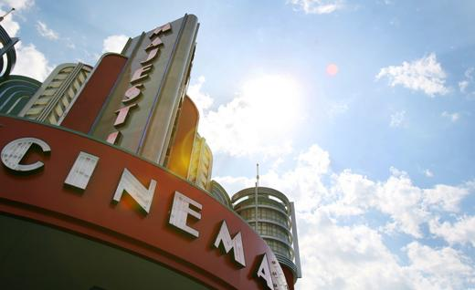 A stronger slate of films in the fiscal third quarter gave Marcus Corp. a boost.