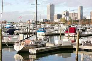 File photo of the McKinley Marina