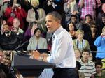 Obama touts manufacturing to boisterous crowd at Master Lock