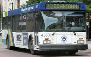 County Executive Chris Abele's 2013 budget will not include cuts to transit.