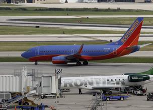 Southwest Airlines has now surpassed Frontier Airlines in market share at General Mitchell International Airport.