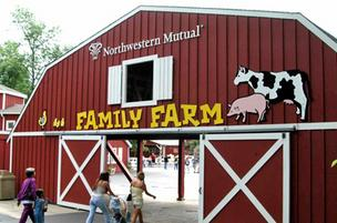 Northwestern Mutual Foundation is providing a grant for the renovation of the entrance to the Northwestern Mutual Family Farm at the Milwaukee County Zoo.