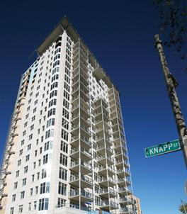 Sales of downtown Milwaukee condos improved through April of this year.