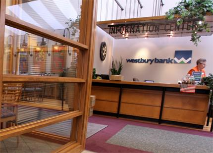 Westbury Bank reported a loss in the third quarter as the result of a charitable contribution.