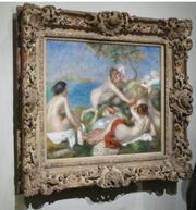 """The Carnegie Museum of Art is lending Renoir's """"Bathers with Crab"""" to the Milwaukee Art Museum for three months to settle its losing Super Bowl bet."""