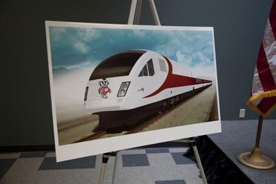 A rendering of the trains Talgo was to build for Wisconsin.