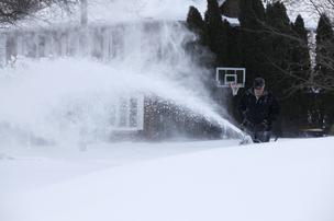 Last year's record low snowfall continued to plague snow-plow manufacturer Douglas Dynamic's financial results.