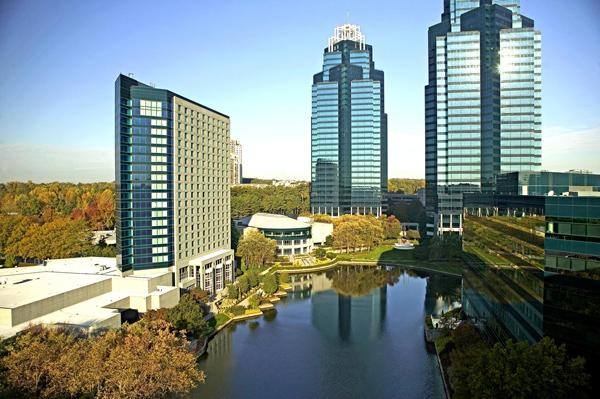 Concourse Corporate Center: The well-known Sandy Springs development saw more leasing activity in the first quarter.