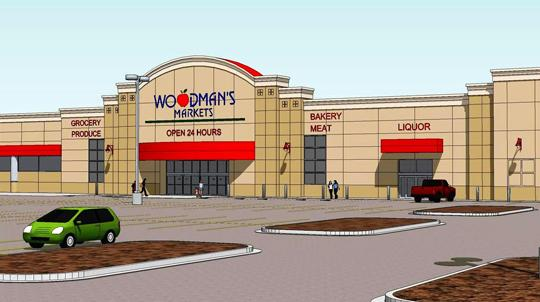 A file rendering of Woodman's Waukesha store provided by the city of Waukesha