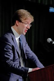 """County Executive Abele delivering the State of the County address Monday ... """"We want to make sure that we — all of the entities who share an interest in growing the economy in Milwaukee —are always actively targeting the industries that are most complementary to our strengths and that we grow our reputation as a place where businesses seek to locate."""""""