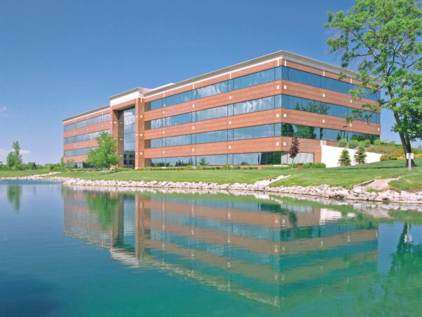 This Pewaukee building in the Riverwood Corporate Center recently sold to a pool of investors.