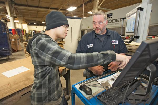 Manufacturers, like GenMet Corp. in Mequon, utilize the Wisconsin Youth Apprenticeship program to train high school students and help fill the pipeline of new workers.