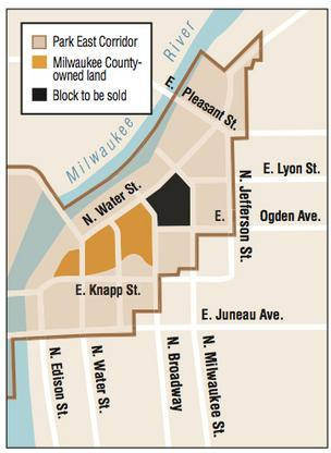 County officials since fall have planned an RFP for a site in the Park East corridor.