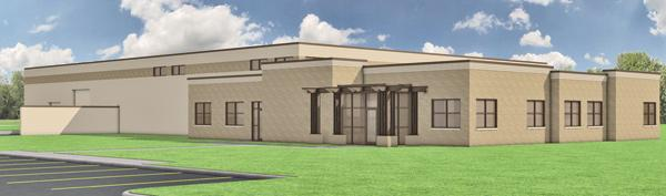 A rendering of Angelic Bakehouse's planned Cudahy facility, which it will move into this year