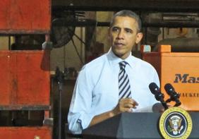 President Barack Obama's policies have hurt small businesses, according to a survey of 800 business owners and manufacturers.