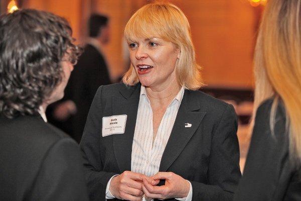 Beth Nicols, executive director of Milwaukee Downtown BID #21