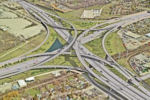 The overall budget for the Zoo Interchange reconstruction is $1.7 billion.