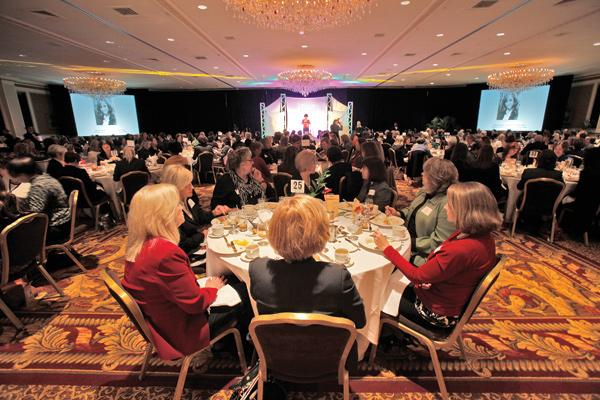 TEMPO Milwaukee, an organization for professional women leaders, celebrated the 22nd annual mentor awards at a luncheon Feb. 16 at The Pfister.