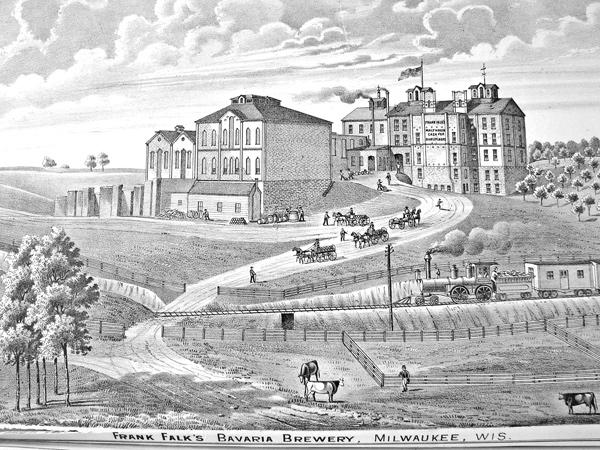 The 4-acre Falk New Bavaria Brewery, on South 29th Street, was built in 1870.